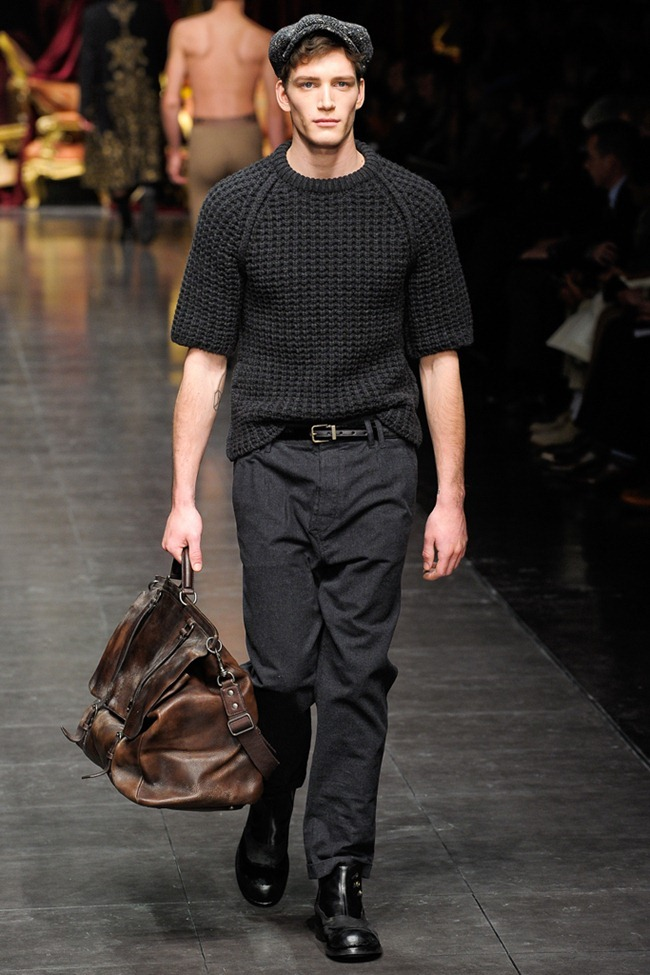 MILAN FASHION WEEK- Dolce & Gabbana Men's Fall 2012. www.imageamplified.com, Image Amplified2 (3)