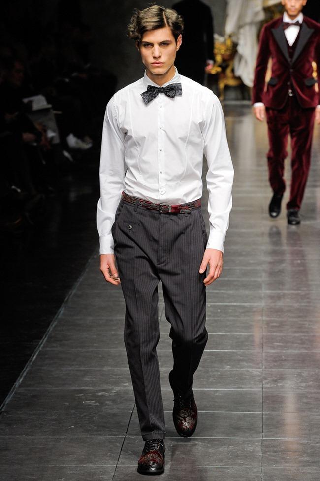 MILAN FASHION WEEK- Dolce & Gabbana Men's Fall 2012. www.imageamplified.com, Image Amplified2 (5)