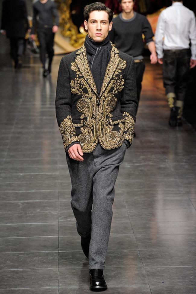 MILAN FASHION WEEK- Dolce & Gabbana Men's Fall 2012. www.imageamplified.com, Image Amplified3 (3)
