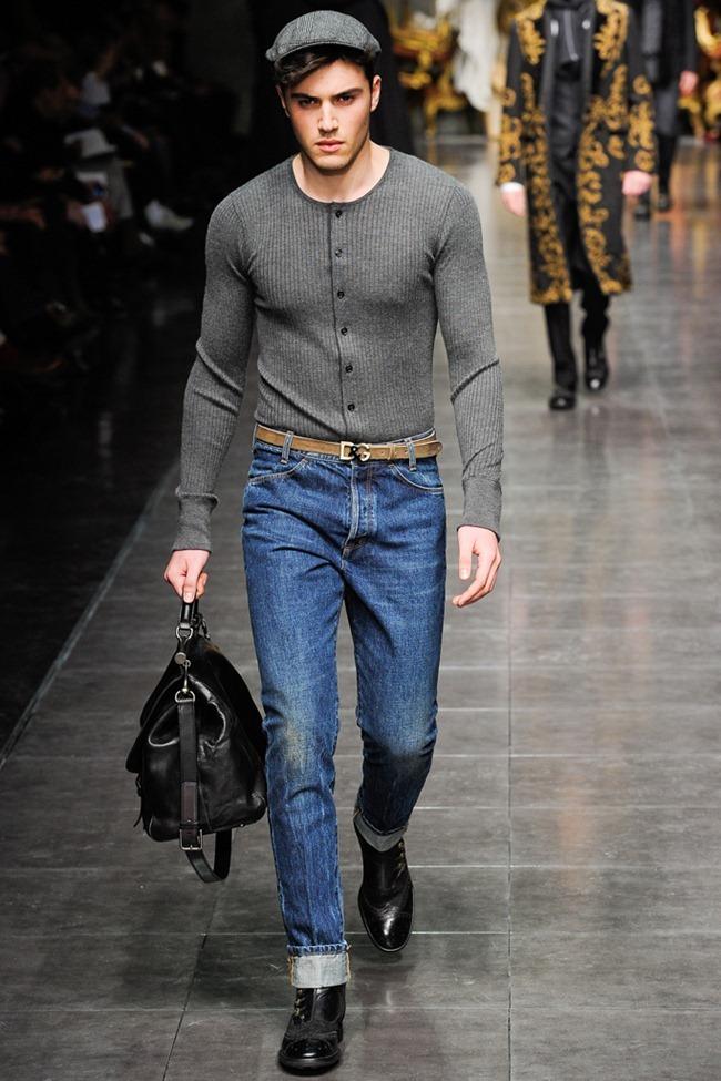 MILAN FASHION WEEK- Dolce & Gabbana Men's Fall 2012. www.imageamplified.com, Image Amplified3 (4)