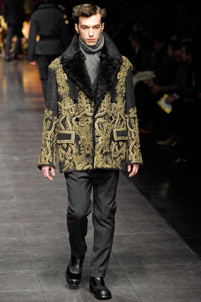 MILAN FASHION WEEK- Dolce & Gabbana Men's Fall 2012. www.imageamplified.com, Image Amplified5 (2)