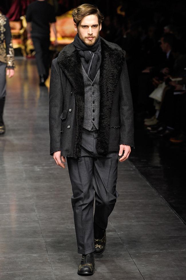 MILAN FASHION WEEK- Dolce & Gabbana Men's Fall 2012. www.imageamplified.com, Image Amplified5 (4)