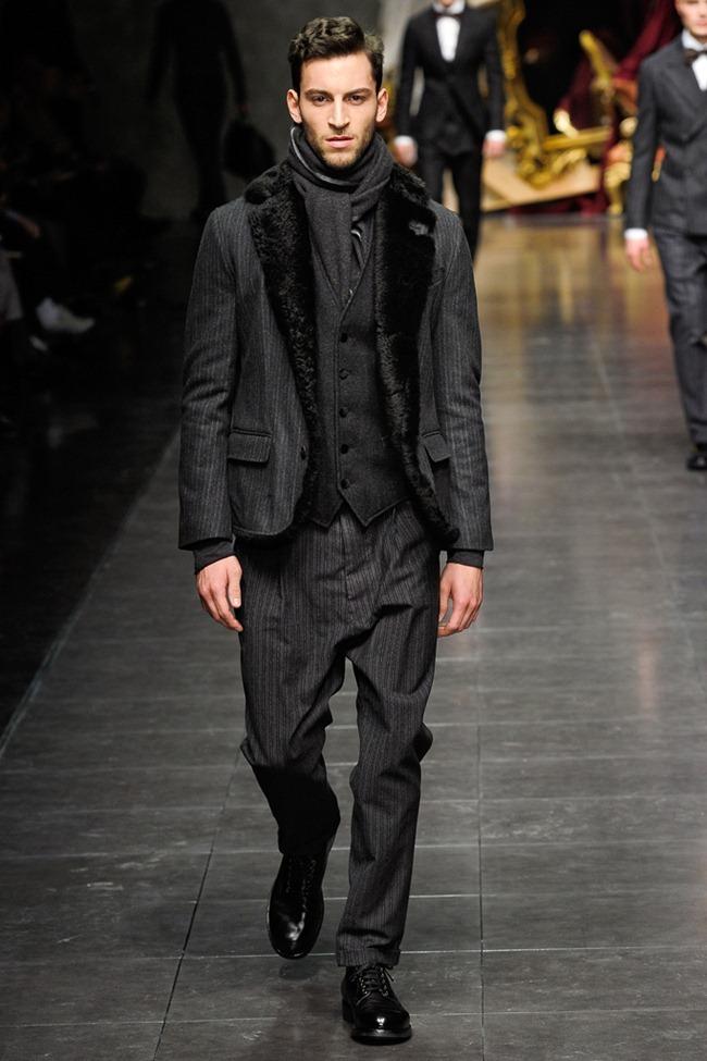 MILAN FASHION WEEK- Dolce & Gabbana Men's Fall 2012. www.imageamplified.com, Image Amplified7 (4)