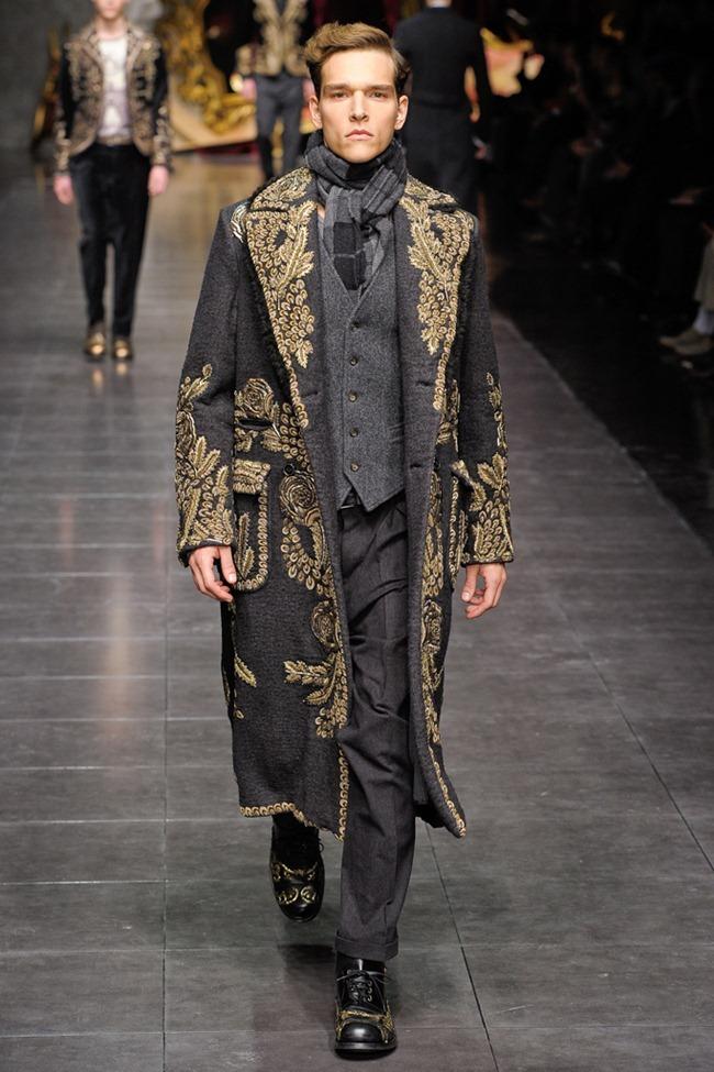 MILAN FASHION WEEK- Dolce & Gabbana Men's Fall 2012. www.imageamplified.com, Image Amplified7 (6)