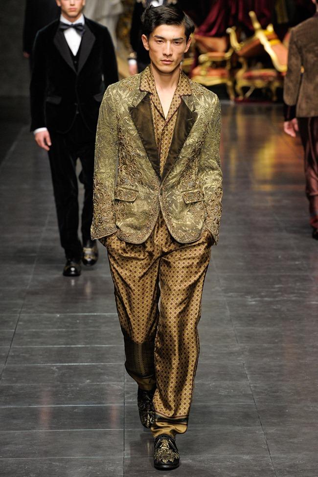 MILAN FASHION WEEK- Dolce & Gabbana Men's Fall 2012. www.imageamplified.com, Image Amplified8 (5)