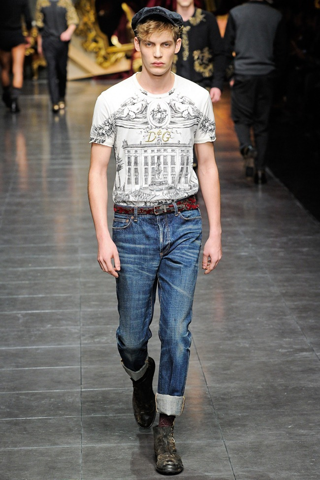 MILAN FASHION WEEK- Dolce & Gabbana Men's Fall 2012. www.imageamplified.com, Image Amplified9 (1)