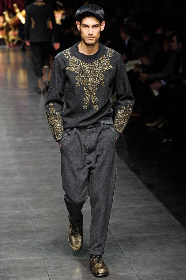 MILAN FASHION WEEK- Dolce & Gabbana Men's Fall 2012. www.imageamplified.com, Image Amplified7 (1)