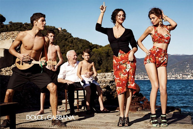 CAMPAIGN- Bianca Balti & Monica Bellucci for Dolce & Gabbana Spring 2012 by Giampaolo Sgura. www.imageamplified.com, Image Amplified4