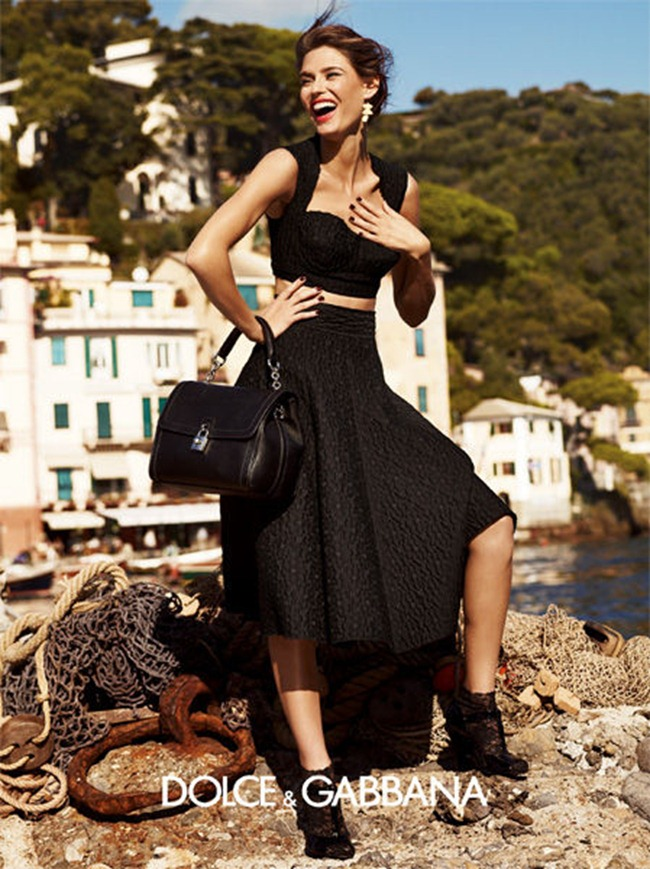 CAMPAIGN- Bianca Balti & Monica Bellucci for Dolce & Gabbana Spring 2012 by Giampaolo Sgura. www.imageamplified.com, Image Amplified8 (1)