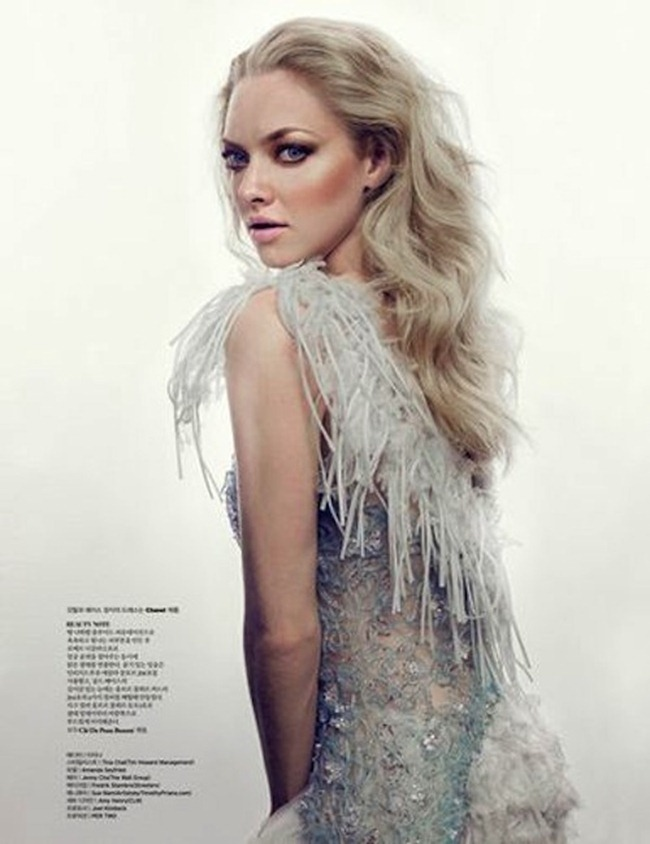 W KOREA- Amanda Seyfried in Radiance Becomes You by David Sl. February 2012, www.imageamplified.com, Image Amplified5