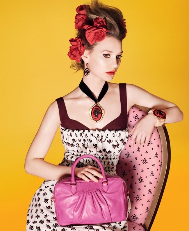 CAMPAIGN Mia Wasikowska for Miu Miu Spring 2012 by David Sims. www.imageamplified.com, Image Amplified (5)