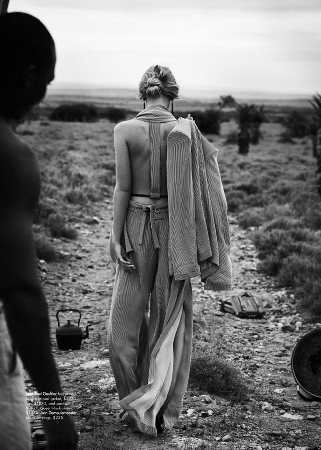 HARPER'S BAZAAR AUSTRALIA Marloes Horst in Wanderlust by Will Davidson. Jillian Davidson, March 2012, www.imageamplified.com, Image Amplified (3)