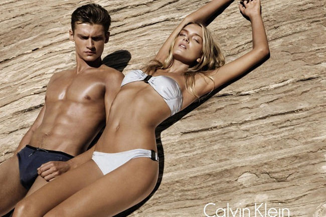 CAMPAIGN- Lily Donaldson, Danny Beauchamp & Vladimir Ivanov for Calvin Klein White Label Spring 2012 by Sebastian Kim. www.imageamplified.com, Image Amplified0