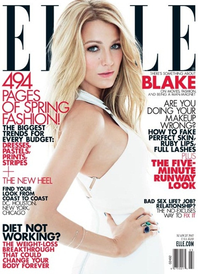ELLE MAGAZINE- Blake Lively by Tom Munro. March 2012, www.imageamplified.com, Image Amplified7