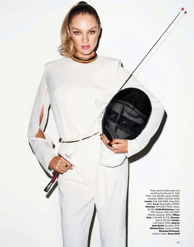 HARPER'S BAZAAR MAGAZINE Candice Swanepoel in Game On by Terry Richardson. Brana Wolf, February 2012, www.imageamplified.com, Image Amplified (3)