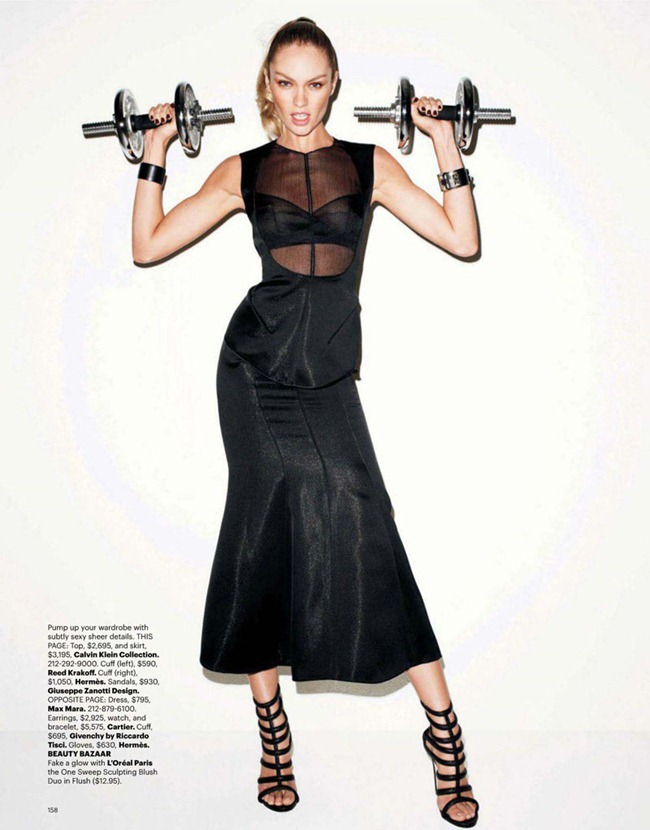 HARPER'S BAZAAR MAGAZINE Candice Swanepoel in Game On by Terry Richardson. Brana Wolf, February 2012, www.imageamplified.com, Image Amplified (5)