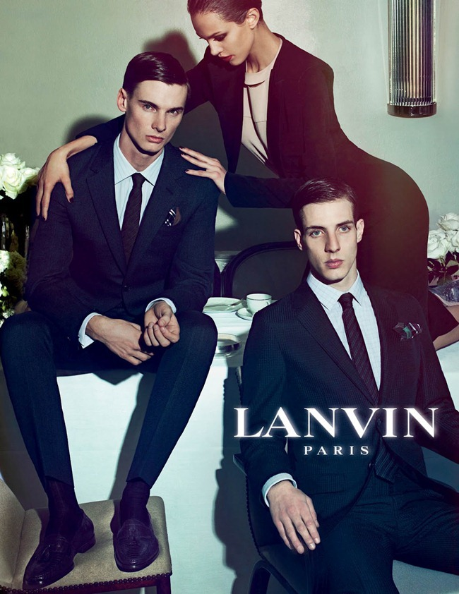 CAMPAIGN Johannes Schulze, Angus Low, Aaron Vernon, Othilia Simon, Aymeline Valade & Marte Mei van haaster for Lanvin Spring 2012 by Steven Meisel. www.imageamplified.com, Image Amplified (3)