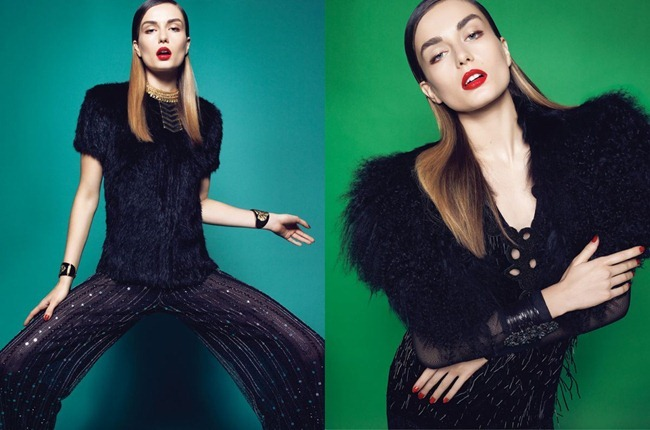 VOGUE BRAZIL- Andreea Diaconu in A Era do Jazz by Henrique Gendre. Luis Fiod, February 2012, www.imageamplified.com, Image Amplified4