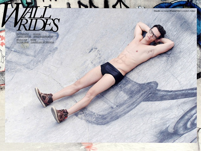 OF THE MODA MAGAZINE- Claude Luiz in Wall Rides by Thiago Santos. www.imageamplified.com, Image Amplified6