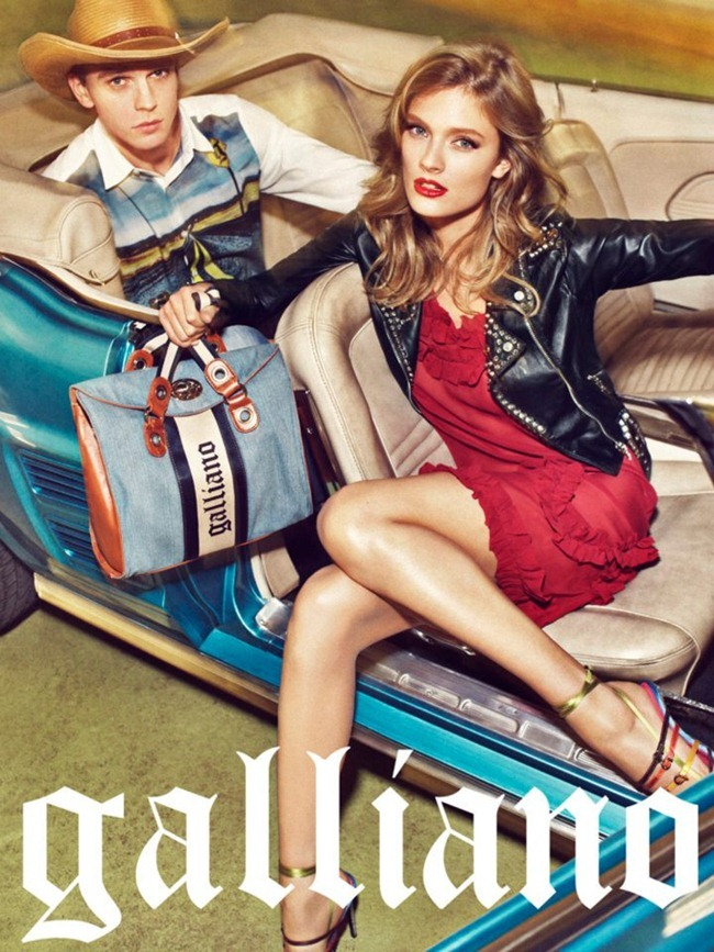 CAMPAIGN- Constance Jablonski & Benjamin Eidem for Galliano Spring 2012 by Sebastian Kim. www.imageamplified.com, Image Amplified  4
