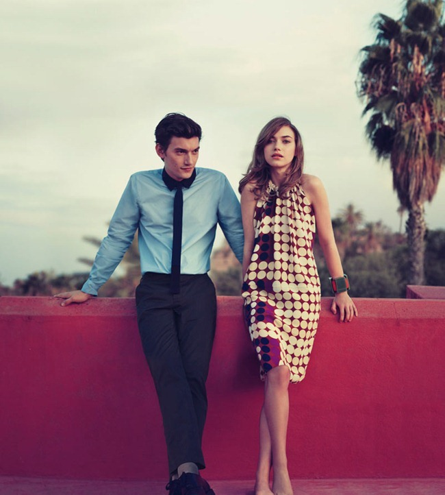 CAMPAIGN Imogen Poots & Liu Wen for Marni at H&M Spring 2012 by Sofia Coppola. www.imageamplified.com, Image Amplified (5)