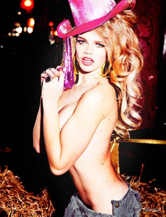 LOVECAT MAGAZINE Valerie van der Graaf in Heart Breaker by Ellen von Unwerth. Anna Trevelyan, www.imageamplified.com, Image Amplified (8)