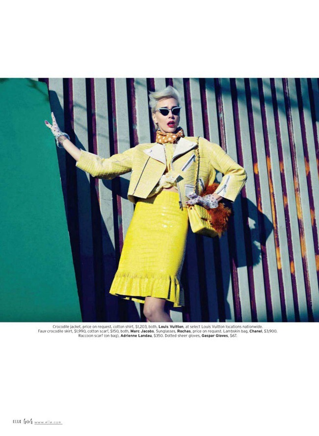 ELLE MAGAZINE hannelore Knuts in Retro Active by Horst Diekgerdes. Brian Molloy, March 2012, www.imageamplified.com, Image Amplified (3)