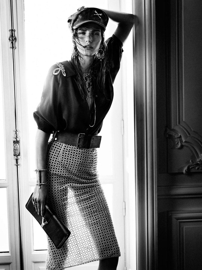 VOGUE SPAIN Marique Schimmel by Hunter & Gatti. Sara Fernandez, March 2012, www.imageamplified.com, Image Amplified (3)