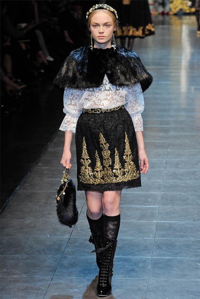 MILAN FASHION WEEK Dolce &  Gabbana Fall 2012. www.imageamplified.com, Image Amplified (3)