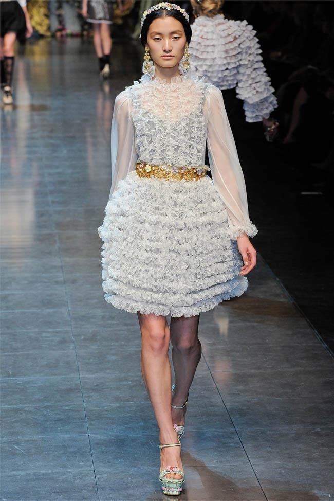 MILAN FASHION WEEK Dolce &  Gabbana Fall 2012. www.imageamplified.com, Image Amplified (8)
