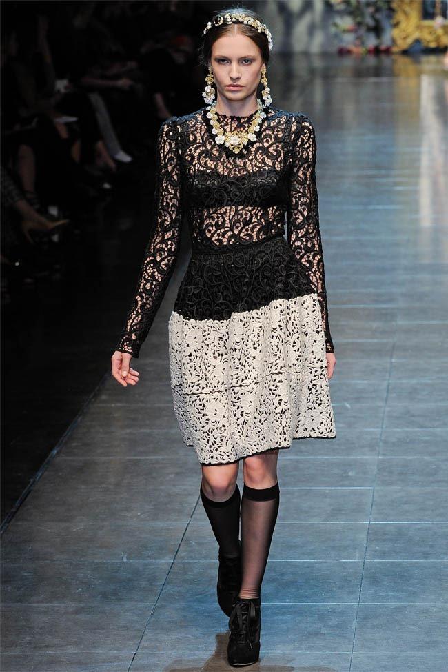MILAN FASHION WEEK Dolce &  Gabbana Fall 2012. www.imageamplified.com, Image Amplified (12)