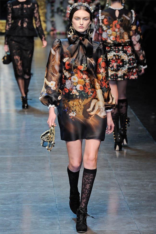 MILAN FASHION WEEK Dolce &  Gabbana Fall 2012. www.imageamplified.com, Image Amplified (35)