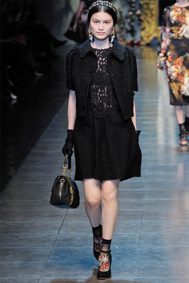 MILAN FASHION WEEK Dolce &  Gabbana Fall 2012. www.imageamplified.com, Image Amplified (40)