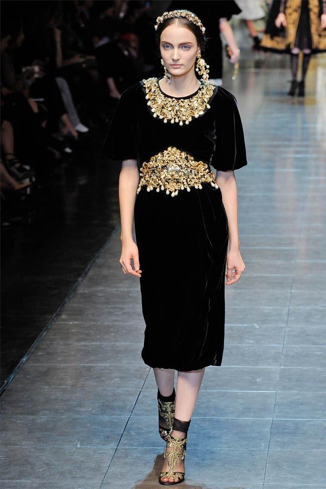 MILAN FASHION WEEK Dolce &  Gabbana Fall 2012. www.imageamplified.com, Image Amplified (43)