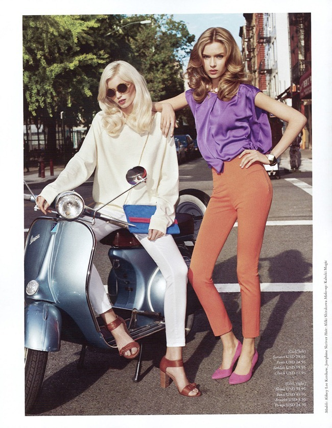 H&M MAGAZINE Abbey Lee Kershaw & Josephine Skriver in Ready Steady Gold by Terry Richardson. Julia Von Boehm, Spring 2012, www.imageamplified.com, Image Amplified (4)