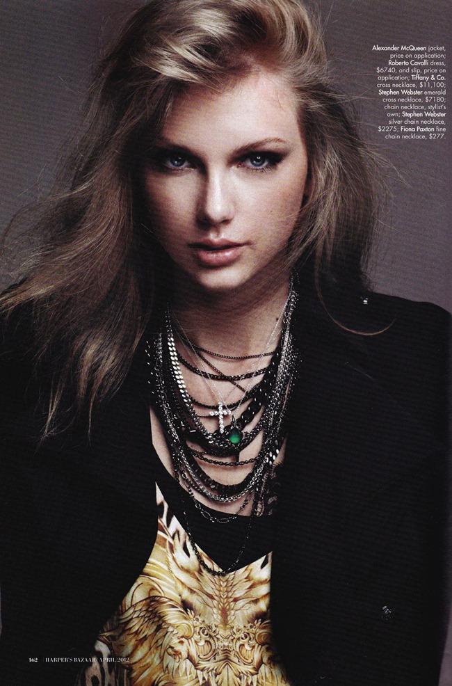 HARPER'S BAZAAR AUSTRALIA- Taylor Swift by Benny Horne. April 2012, www.imageamplified.com, Image Amplified5
