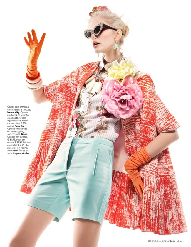 VOGUE PORTUGAL- Dani Seitz in Candy Colour by Benjamin Kanarek. Paulo Macedo, April 2012, www.imageamplified.com, Image Amplified5
