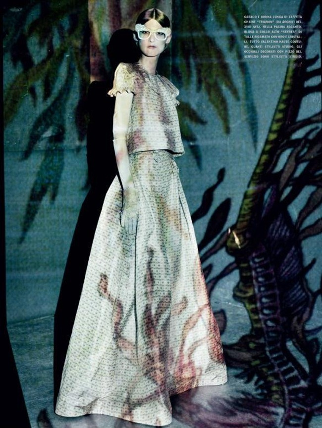 VOGUE ITALIA- Marie Piovesan in A Lady in Spring by Paolo Roversi. Panos Yiapanis, March 2012, www.imageamplified.com, Image Amplified7