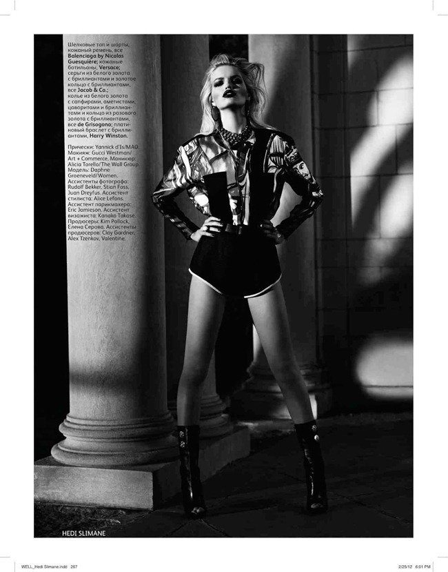 VOGUE RUSSIA Daphne Groenveld by Hedi Slimane. Sarah Richardson, April 2012, www.imageamplified.com, Image Amplified (10)