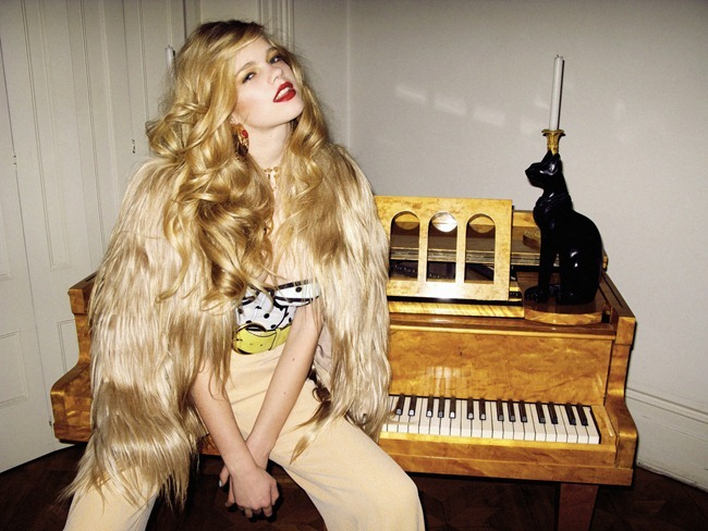 HAUTE MUSE Valerie van der Graaf in Miss Haute by Kate Bellm. Kimi O'Neill, Spring 2012, www.imageampilfied.com, Image Amplified (3)