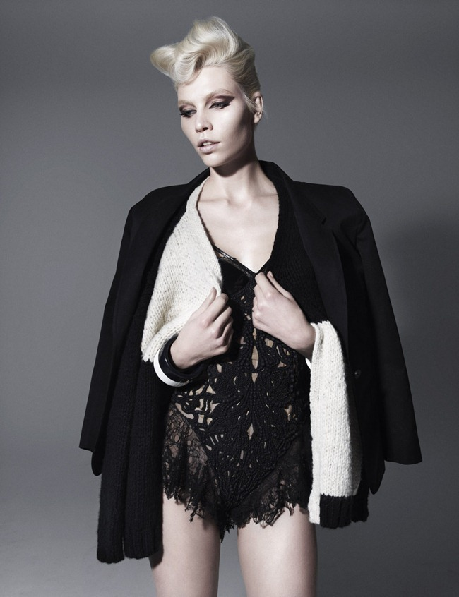 VOGUE GERMANY Aline Weber in High Class by Miguel Reveriego. Lynn Schmidt, March 2012, www.imageamplified.com, Image Amplified (2)