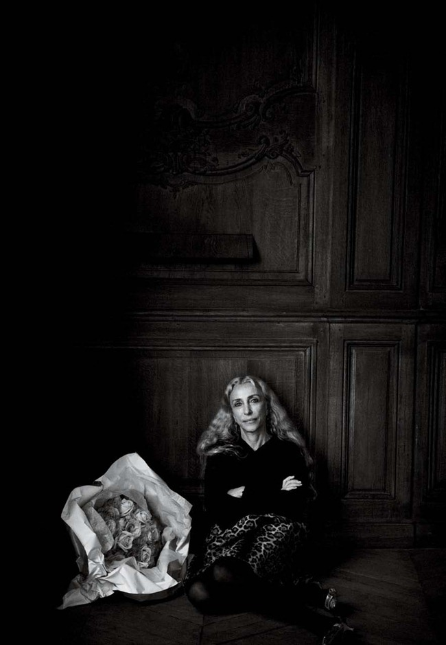 INTERVIE MAGAZINE- Franca Sozzani by Peter Lindbergh. March 2012, www.imageamplified.com, Image Amplified