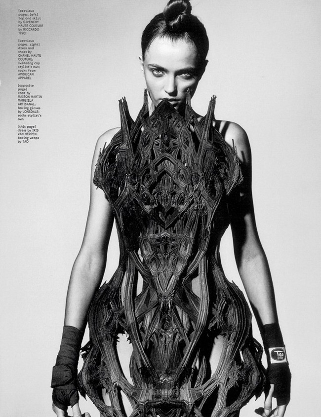 DAZED & CONFUSED MAGAZINE- Vlada Roslyakova in Sporting Couture by Richard Burbridge. April 2012, www.imageamplified.com, Image Amplified5