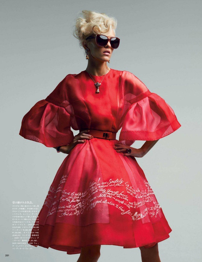 VOGUE JAPAN- Anja Rubik in Couture To Adore by Patrick Demarchelier. Anna Dello Russo, www.imageamplified.com, Image Amplified (3)