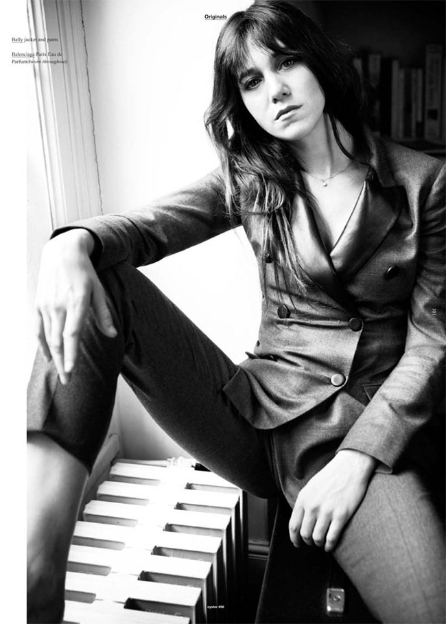 OYSTER MAGAZINE Charlotte Gainsbourg by Will Davidson. Stevie Dance, www.imageamplified.com, Image Amplified (2)