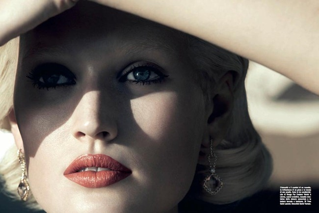 VOGUE ITALIA- Toni Garrn by Camilla Akrans. Ludivine Poiblanc, April 2012, www.imageamplified.com, Image Amplified (2)