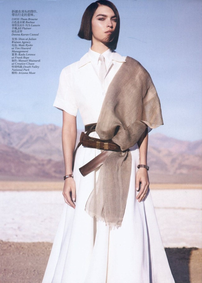 VOGUE CHINA- Arizona Muse in Hippie Deluxe by Josh Olins. Nicoletta Santoro, May 2012, www.imageamplified.com, Image Amplified (1)