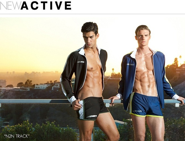 CAMPAIGN Kaylan Falgoust for N2N Bodywear Active Summer 2012. www.imageamplified.com, Image Amplified (1)
