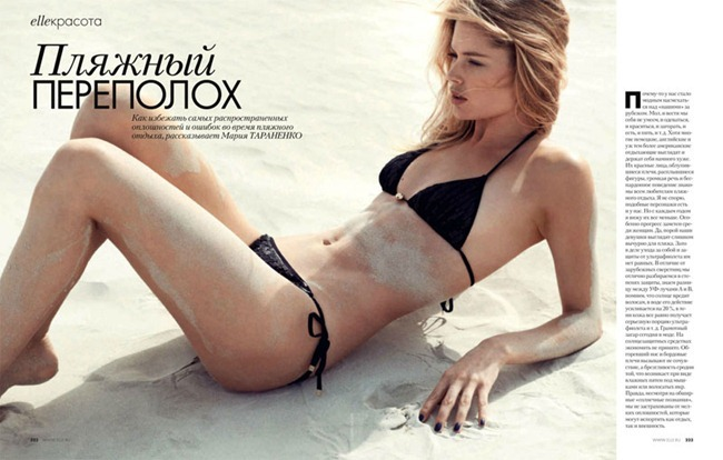 ELLE RUSSIA Doutzen Kroes by Thiemo Sander. Claire Sibille, June 2012, www.imageamplified.com, Image Amplified (7)