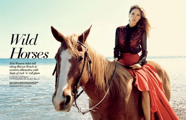 C MAGAZINE Erin Wasson in Wild Horses by Hilary Walsh. Summer 2012, Samantha Traina, www.imageamplified.com, Image Amplified (2)